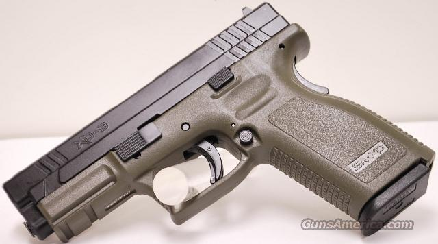Springfield Xd9 Od 9mm Olive Drab Green For Sale  972704113