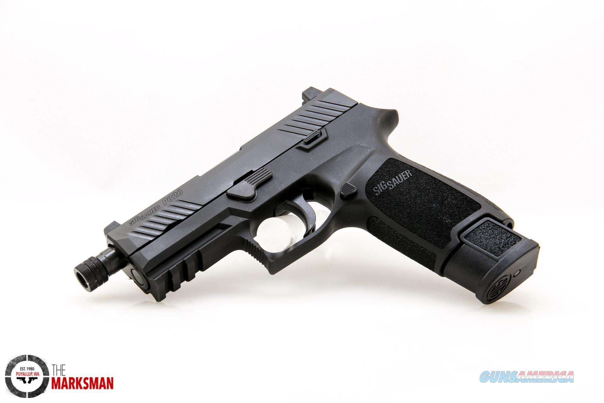 Sig Sauer P320 TacOps 9mm NEW Threaded Barrel  Guns > Pistols > Sig - Sauer/Sigarms Pistols > P320