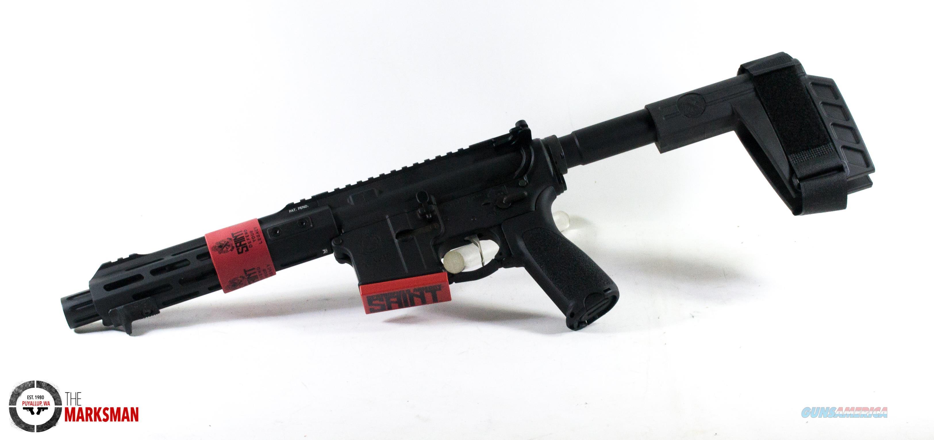 Springfield Armory Saint Victor AR-15 Pistol, 5.56mm NATO NEW  Guns > Pistols > Springfield Armory Pistols > SAINT Pistol