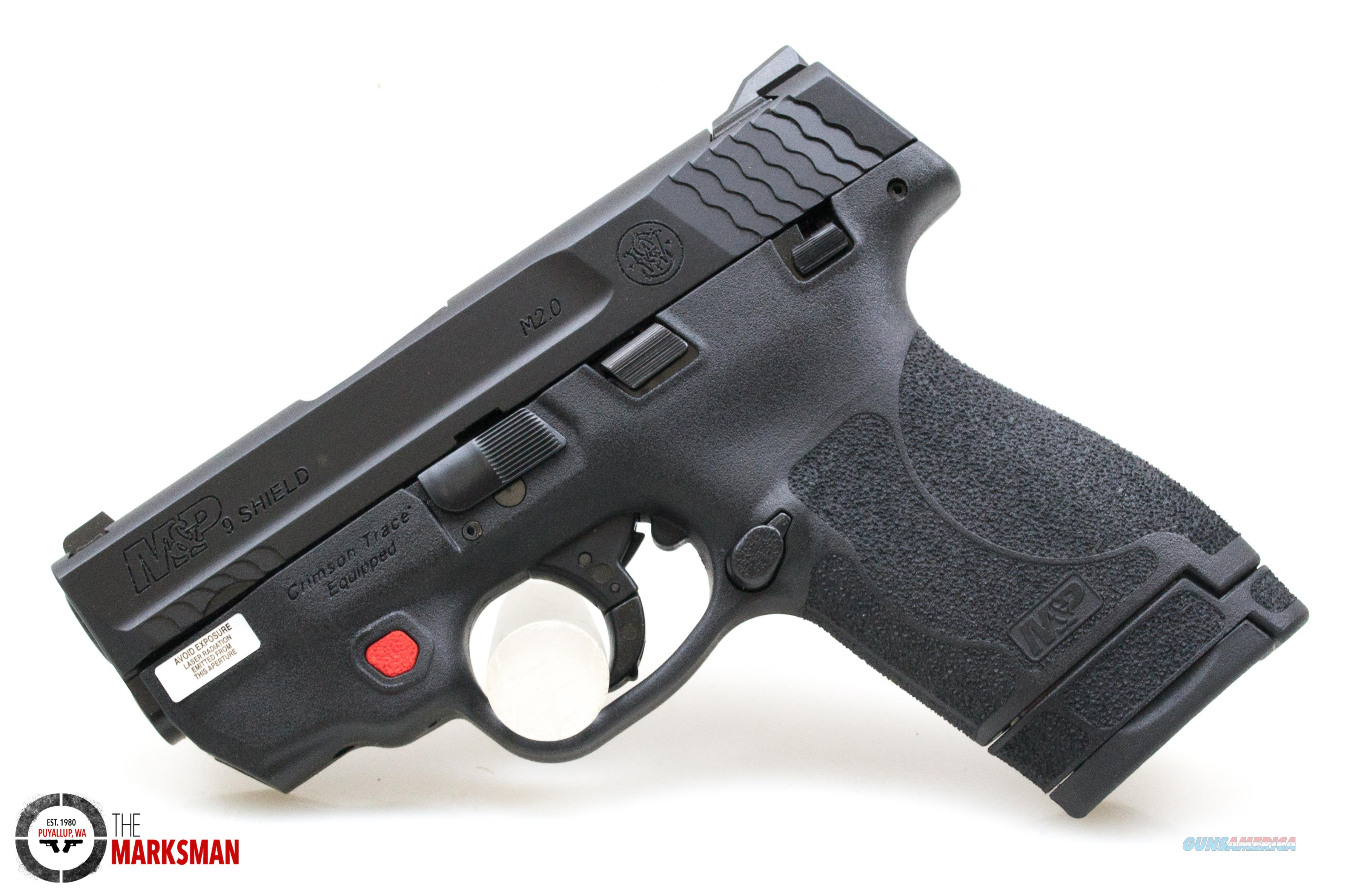 Smith and Wesson M&P9 Shield M2.0, 9mm, with Integrated Laser  Guns > Pistols > Smith & Wesson Pistols - Autos > Shield