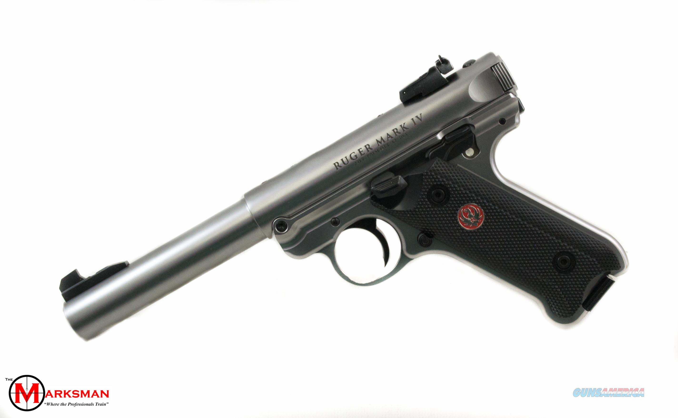 Ruger Mark IV Target .22 lr NEW  Guns > Pistols > Ruger Semi-Auto Pistols > Mark I/II/III/IV Family