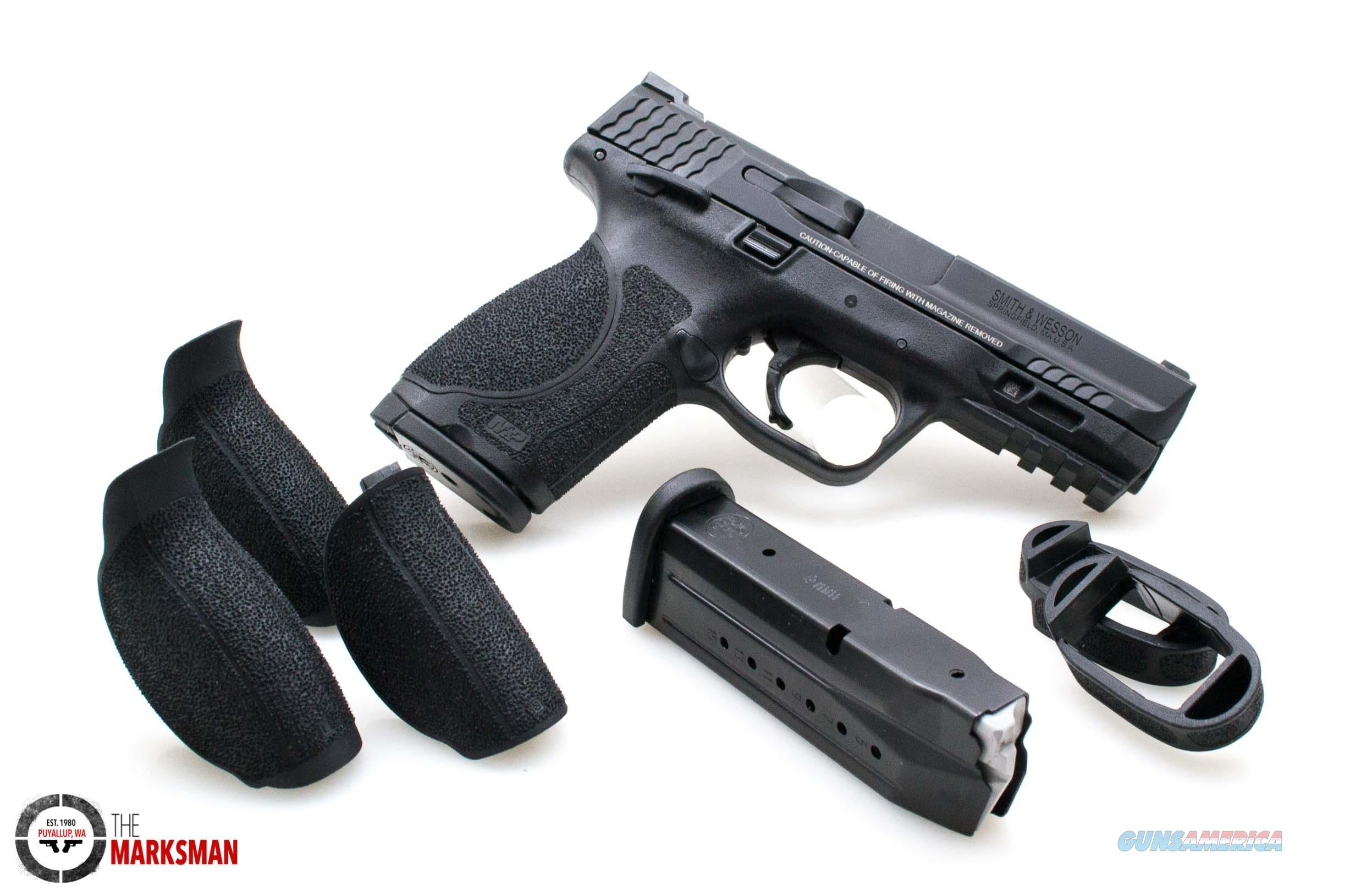 Smith and Wesson M&P9 2.0 Compact, 9mm w/ Thumb Safety  Guns > Pistols > Smith & Wesson Pistols - Autos > Polymer Frame