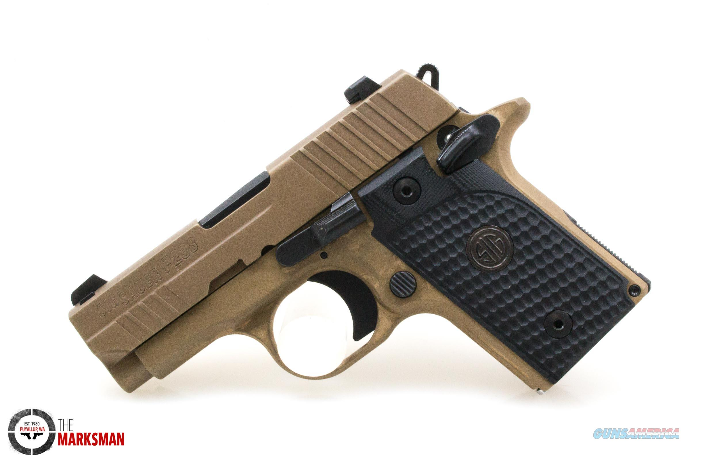 Sig Sauer P238 Emperor Scorpion, .380 ACP NEW Free Shipping   Guns > Pistols > Sig - Sauer/Sigarms Pistols > P238