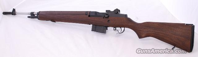 Springfield Loaded M1A with Stainless Steel Barrel, Walnut Stock  Guns > Rifles > Springfield Armory Rifles > M1A/M14