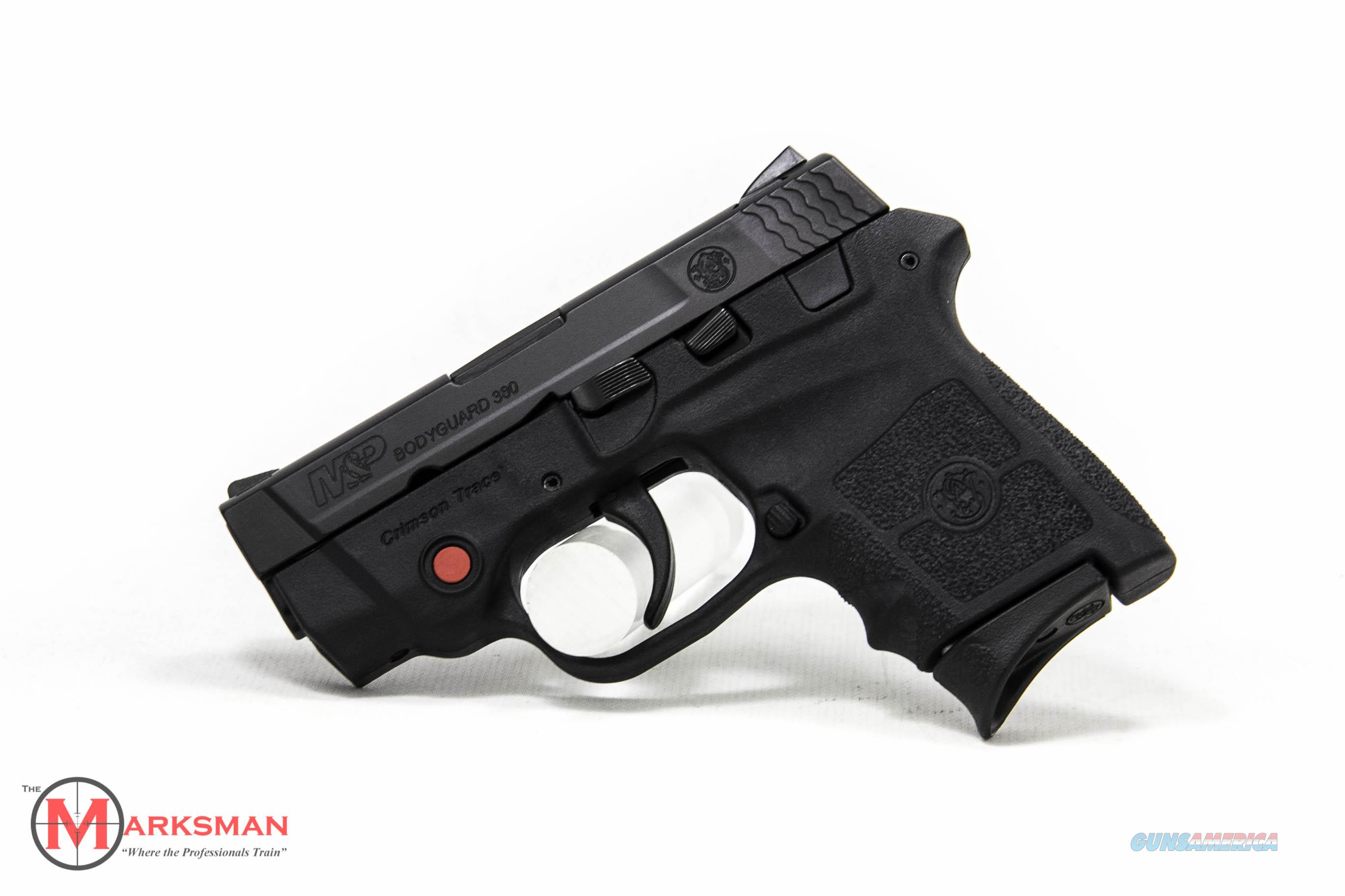 Smith and Wesson M&P Bodyguard .380 ACP NEW Crimson Trace Laser/No Thumb Safety  Guns > Pistols > Smith & Wesson Pistols - Autos > Polymer Frame