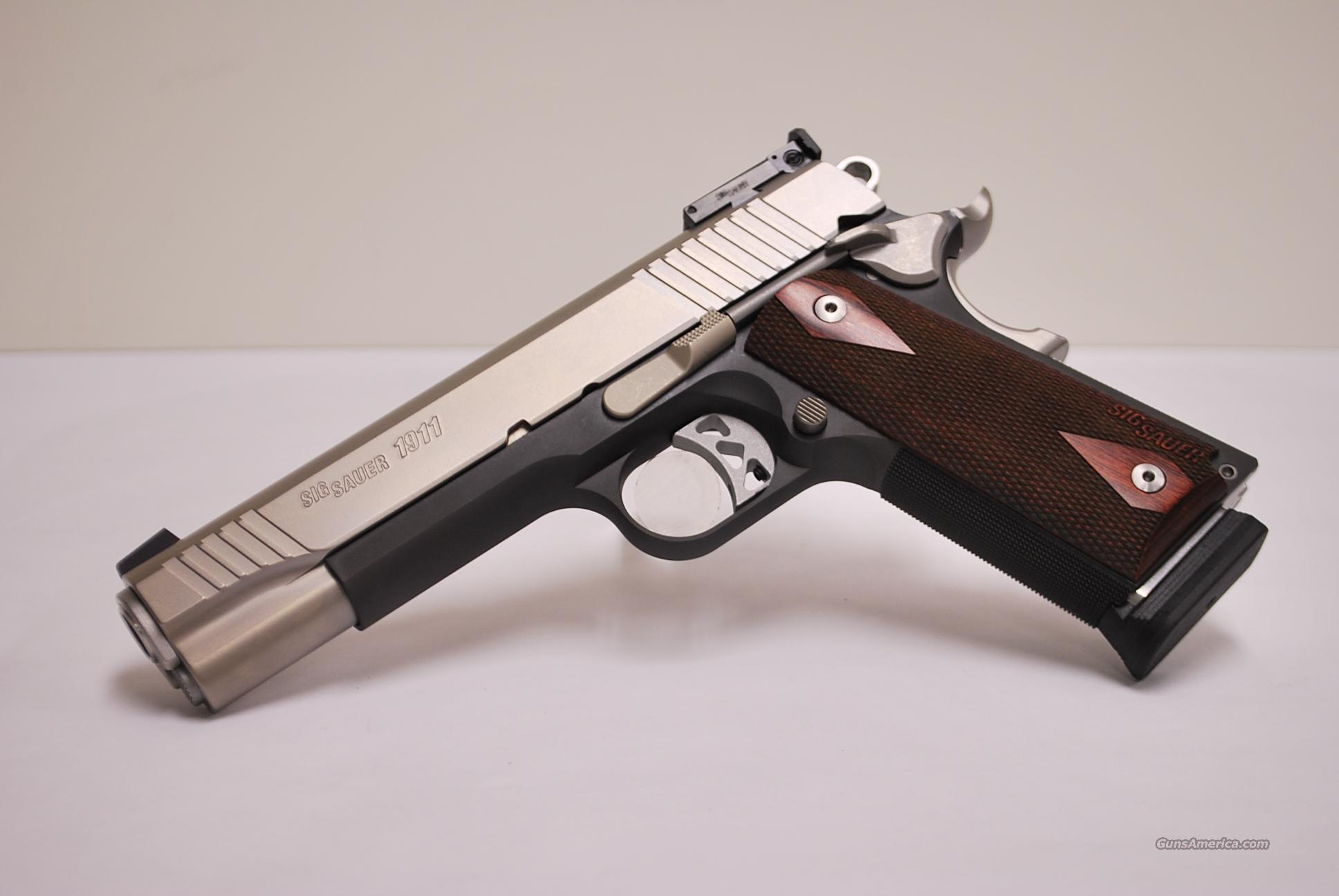 Sig Sauer Traditional Match Elite 1911, .45 ACP  Guns > Pistols > Sig - Sauer/Sigarms Pistols > 1911