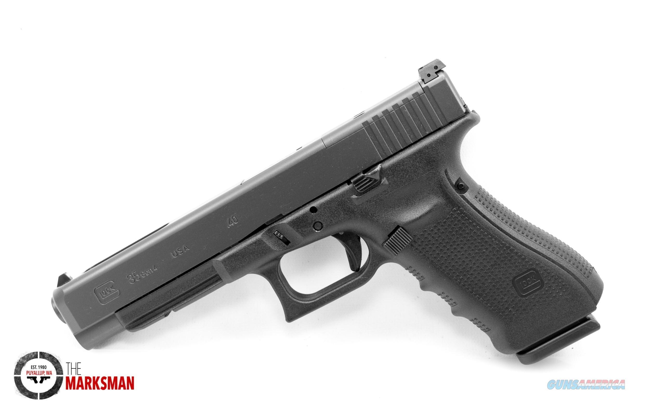 Glock 35 Generation 4 MOS, .40 S&W NEW  Guns > Pistols > Glock Pistols > 35