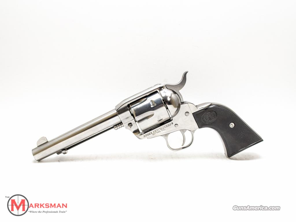 Ruger Stainless Vaquero .357 Magnum  Guns > Pistols > Ruger Single Action Revolvers > Cowboy Action