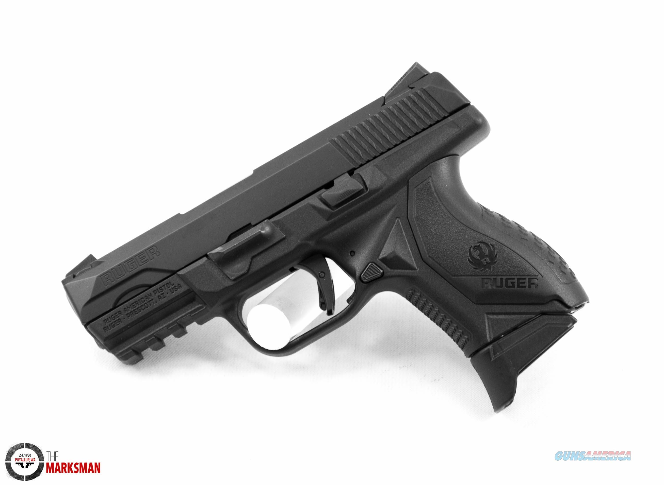 Ruger American Compact, 9mm NEW 08635 Guns > Pistols > Ruger Semi-Auto Pistols > American Pistol
