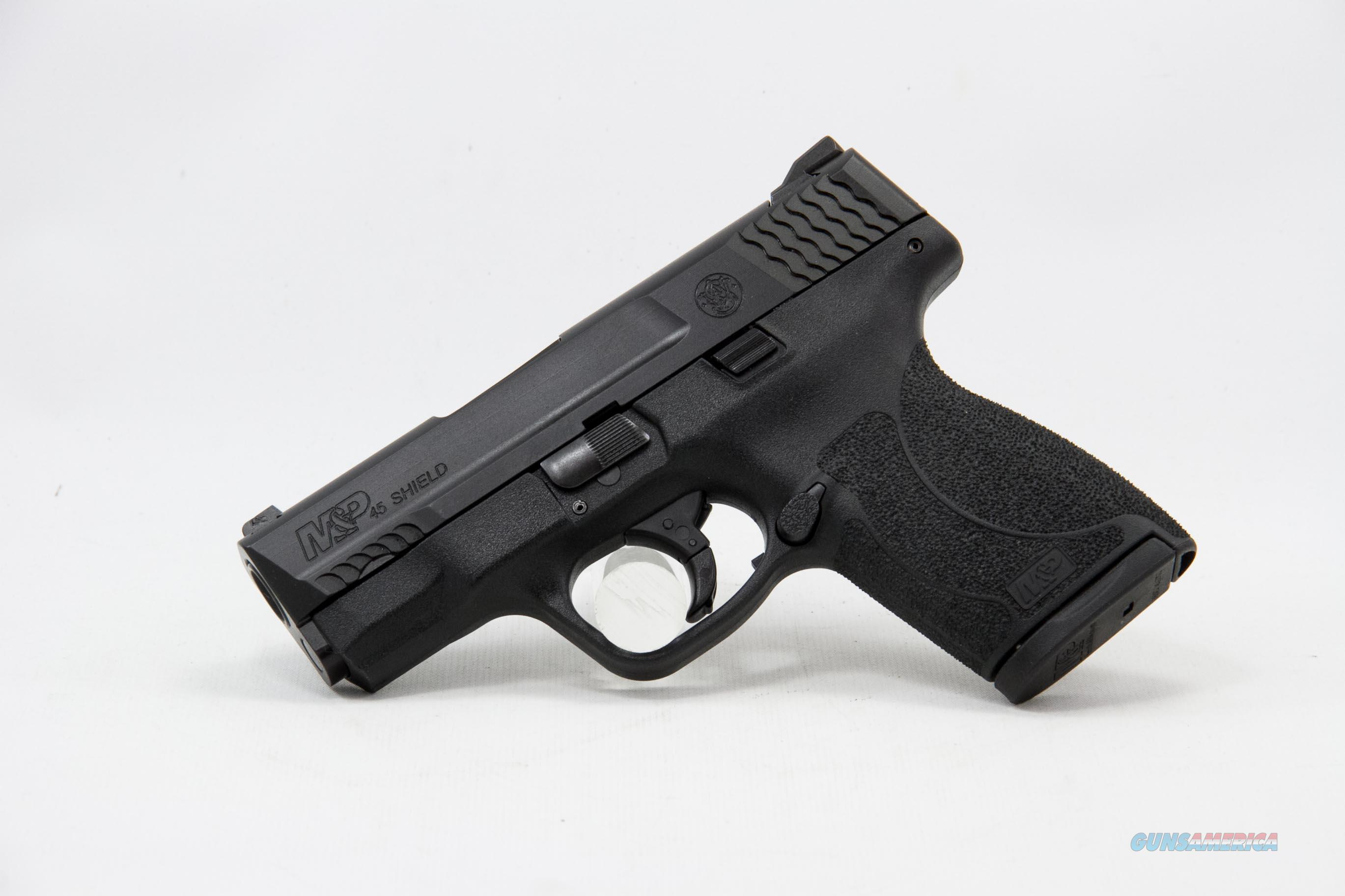 Smith and Wesson M&P Shield .45 ACP NEW No Thumb Safety  Guns > Pistols > Smith & Wesson Pistols - Autos > Shield
