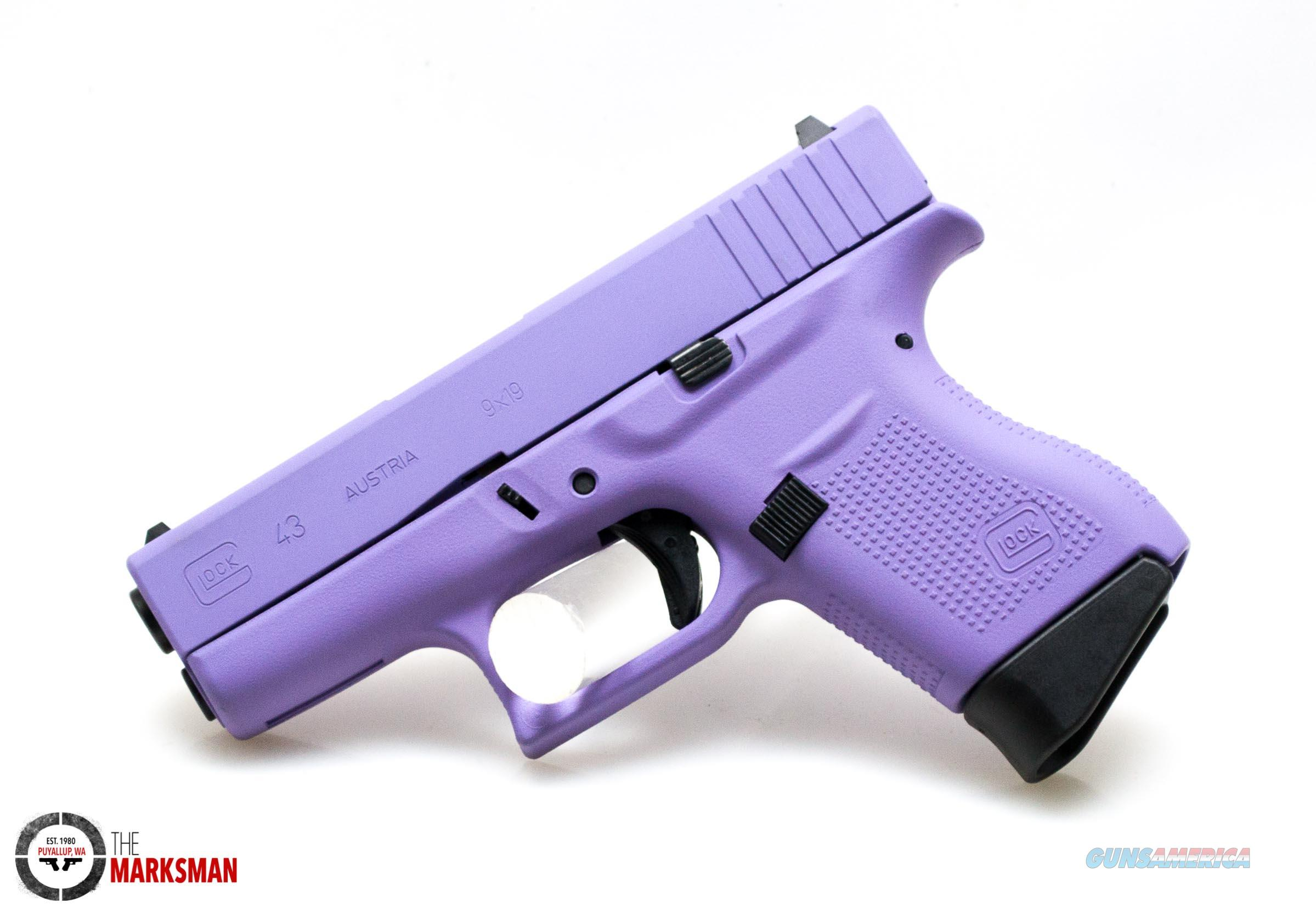Glock 43, 9mm, Royal Purple, Acusport Exclusive   Guns > Pistols > Glock Pistols > 43