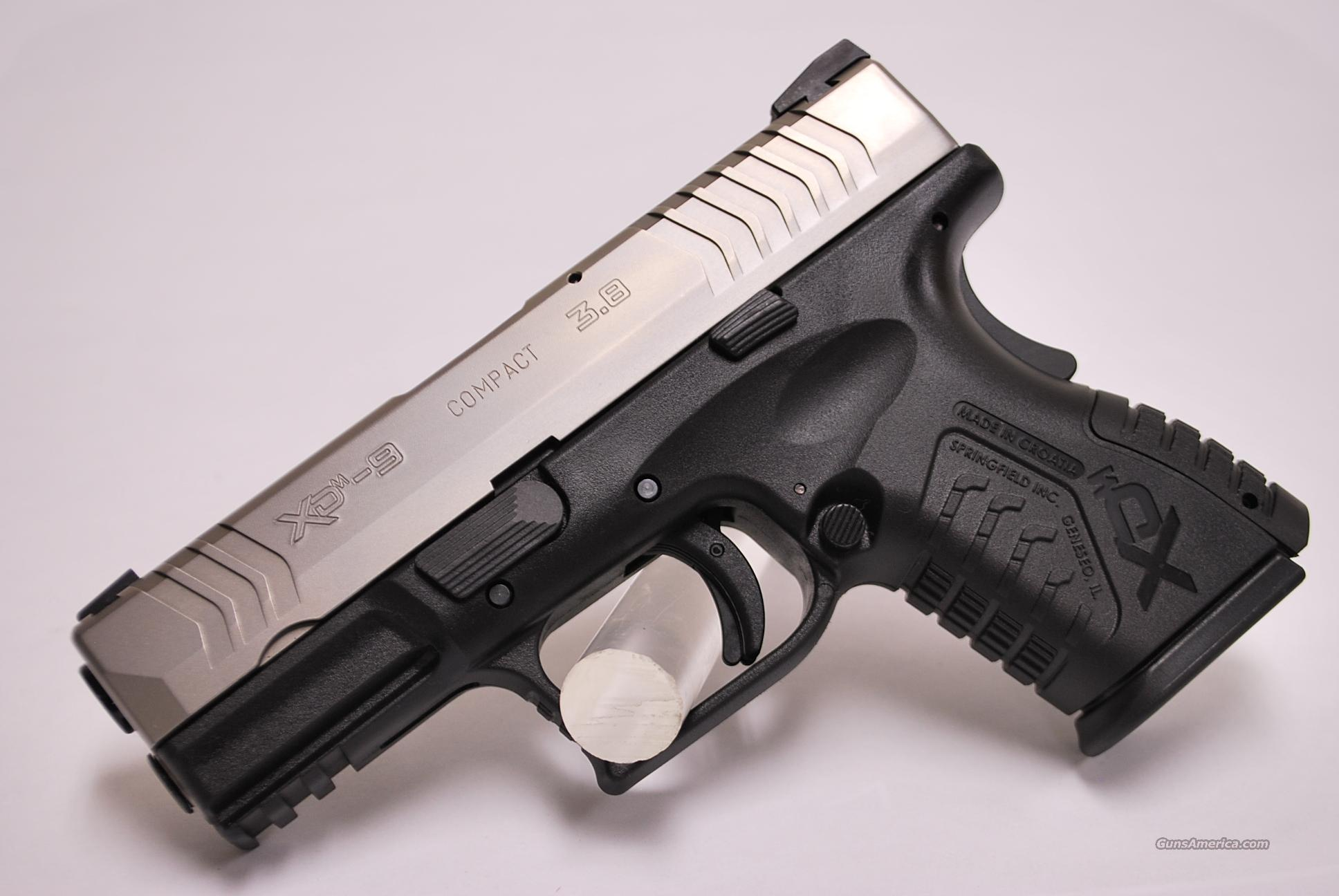 Springfield XDM 3.8 Compact, 9mm, NEW  Guns > Pistols > Springfield Armory Pistols > XD (eXtreme Duty)