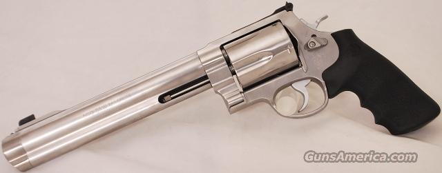 Smith and Wesson 500 .500 S&W Magnum 8 inch S&W 500  Guns > Pistols > Smith & Wesson Revolvers > Full Frame Revolver