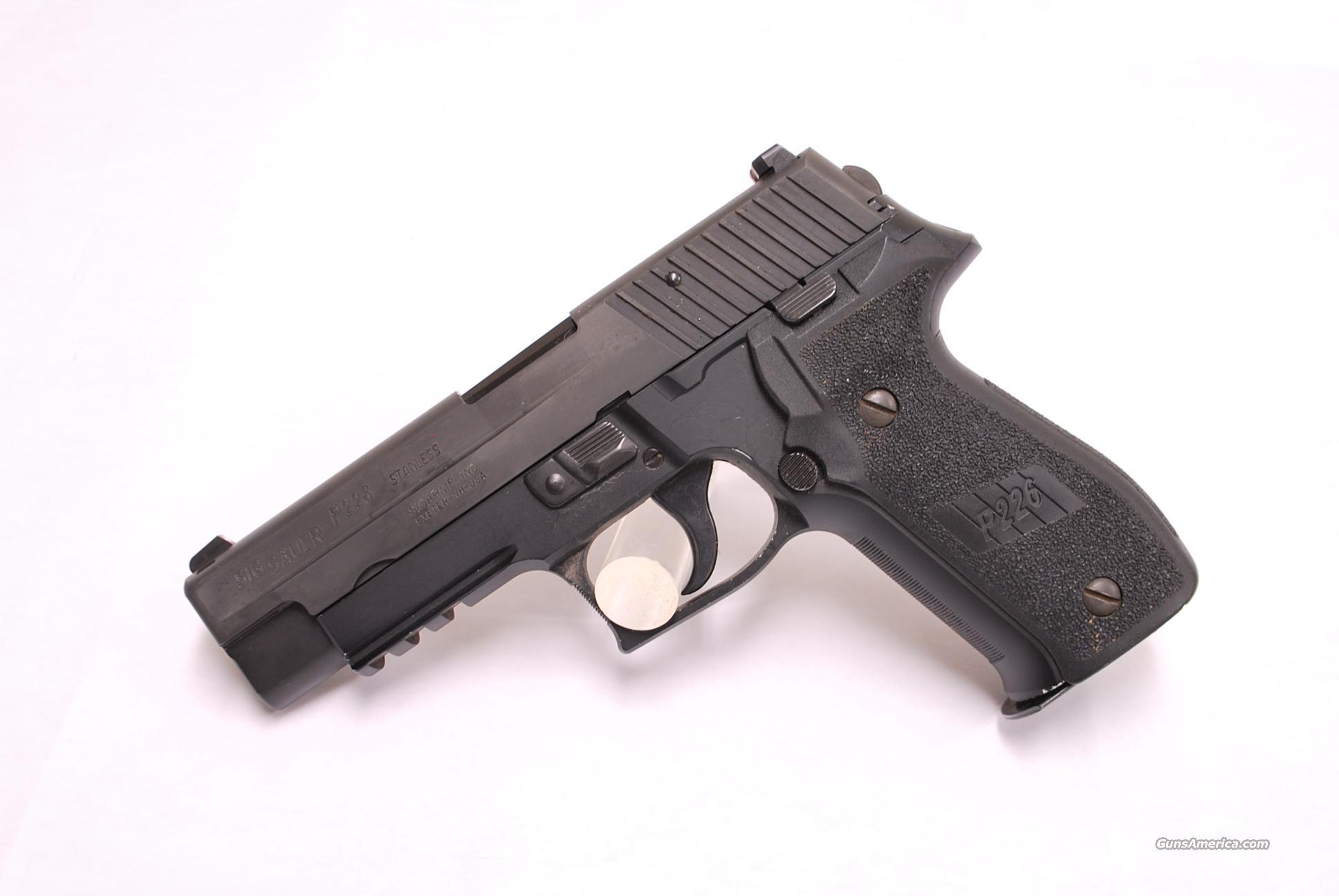 Sig Sauer P226, 40 S&W DAK, USED 40  Guns > Pistols > Sig - Sauer/Sigarms Pistols > P226