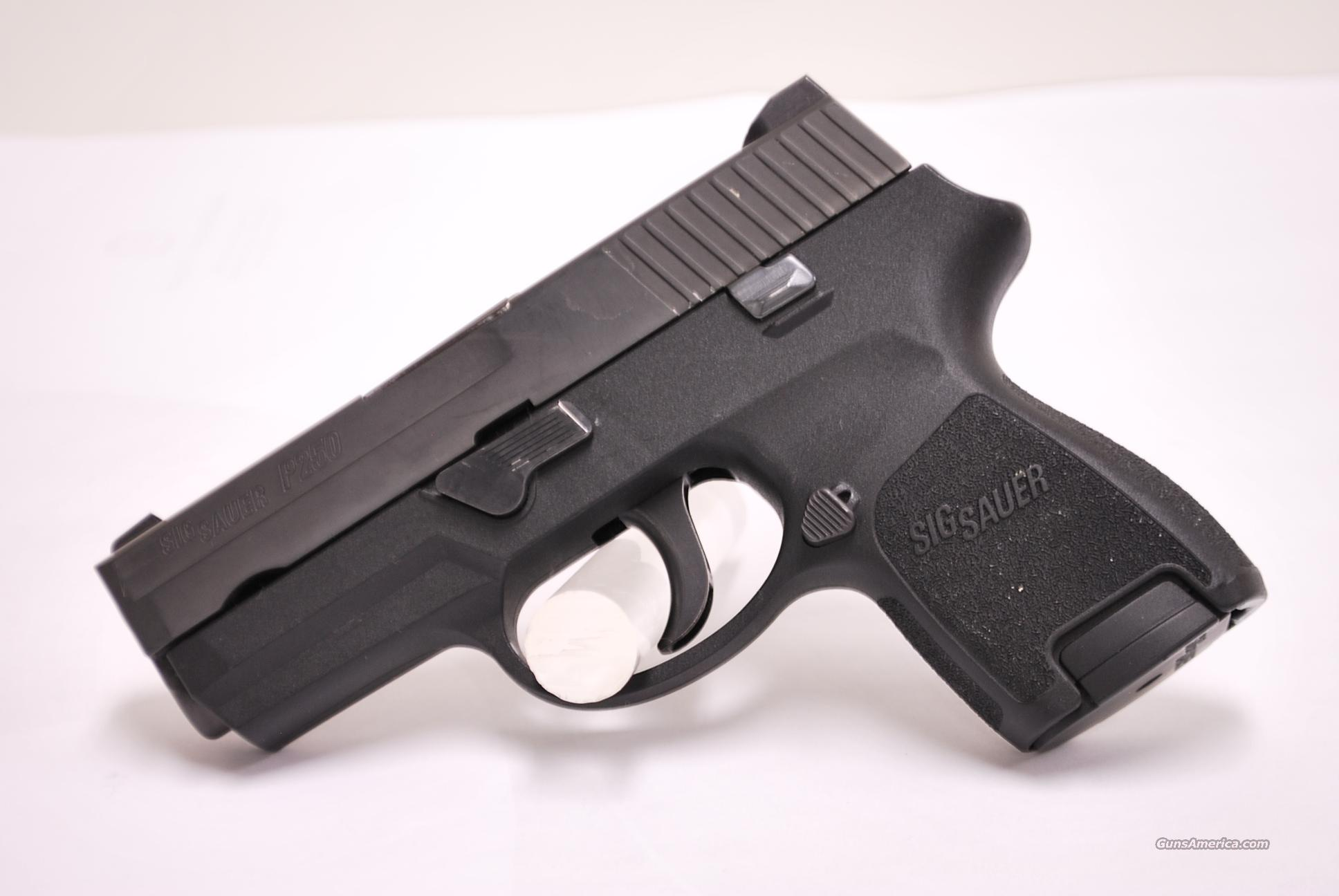 SIG SAUER P250 SUBCOMPACT 40 S&W USED 250  Guns > Pistols > Sig - Sauer/Sigarms Pistols > P250