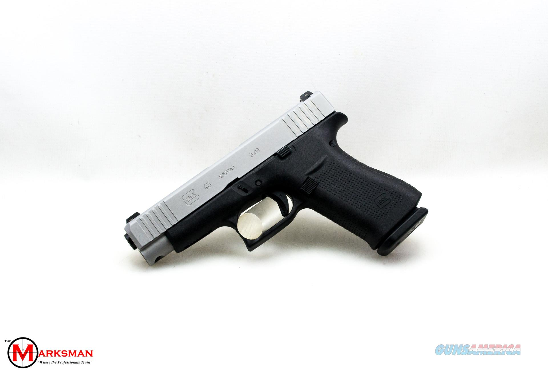 Glock 48, 9mm, Tritium Night Sights NEW PA485SL701  Guns > Pistols > Glock Pistols > 48