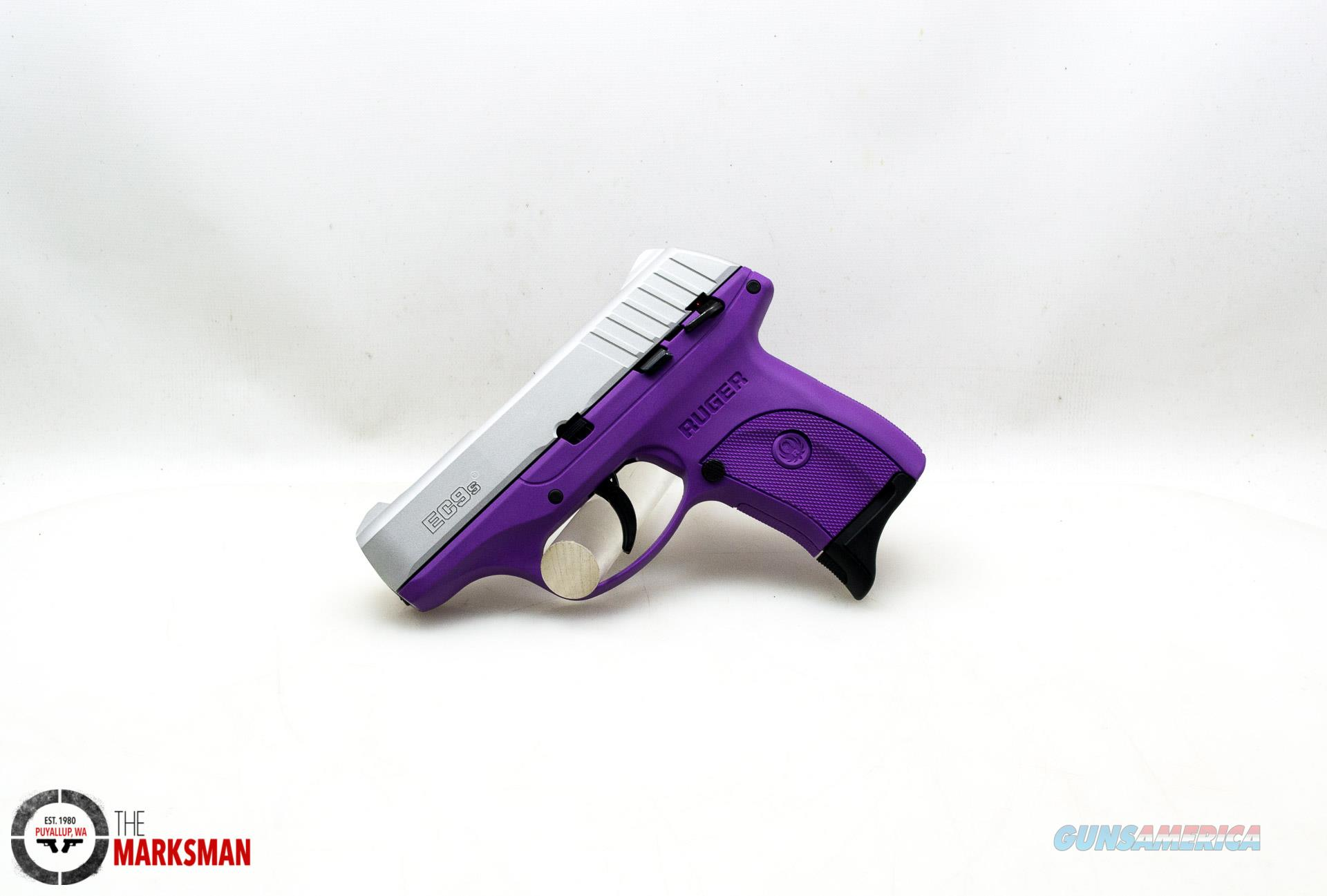 Ruger EC9s, 9mm, Purple and Stainless NEW  Guns > Pistols > Ruger Semi-Auto Pistols > EC9