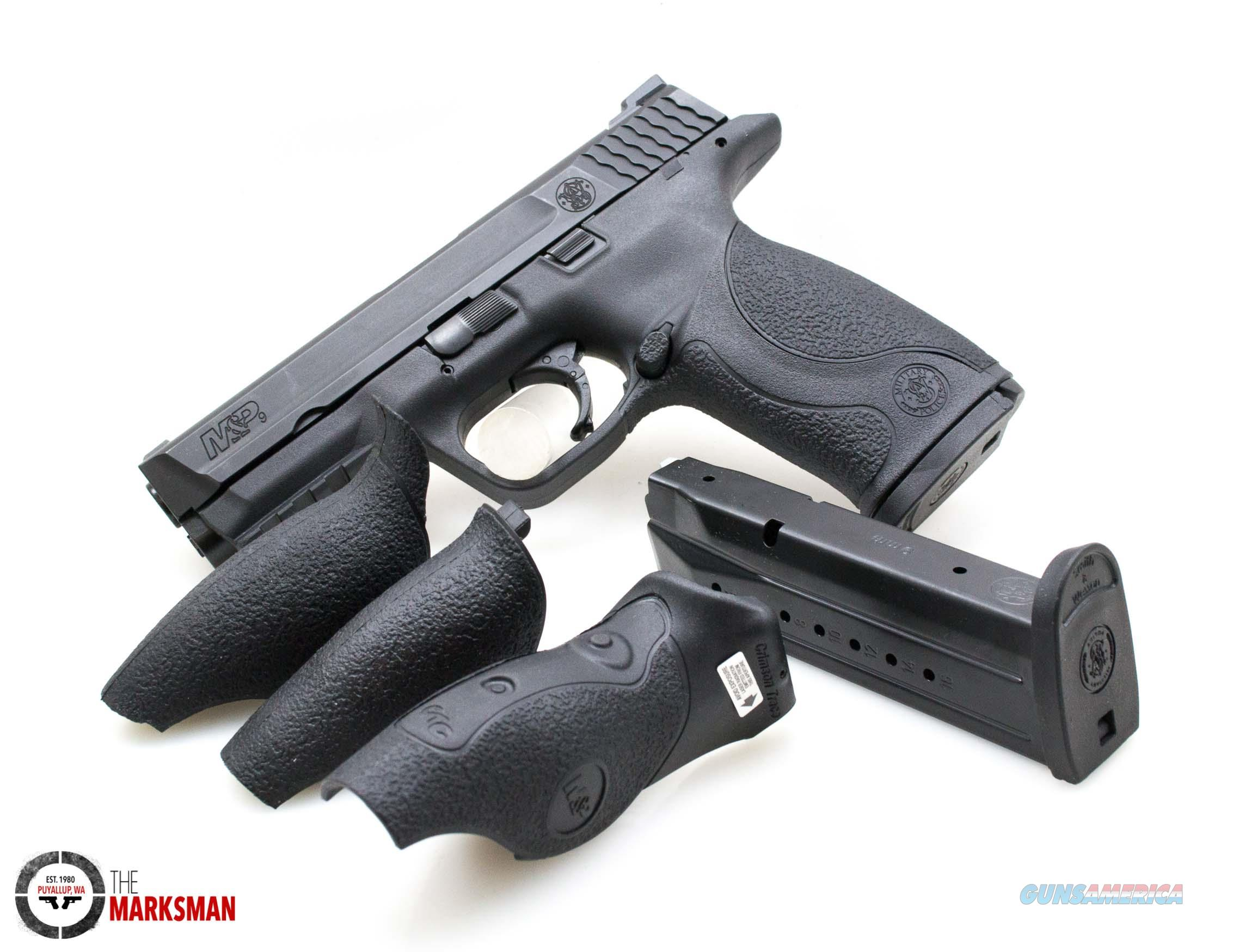 Smith and Wesson M&P9 NTS, 9mm, Crimson Trace Laser Grips  Guns > Pistols > Smith & Wesson Pistols - Autos > Polymer Frame