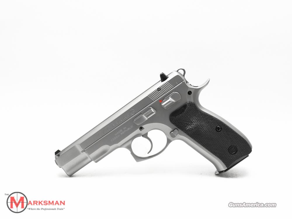 CZ Matte Stainless CZ 75 B 9mm New 91128  Guns > Pistols > CZ Pistols