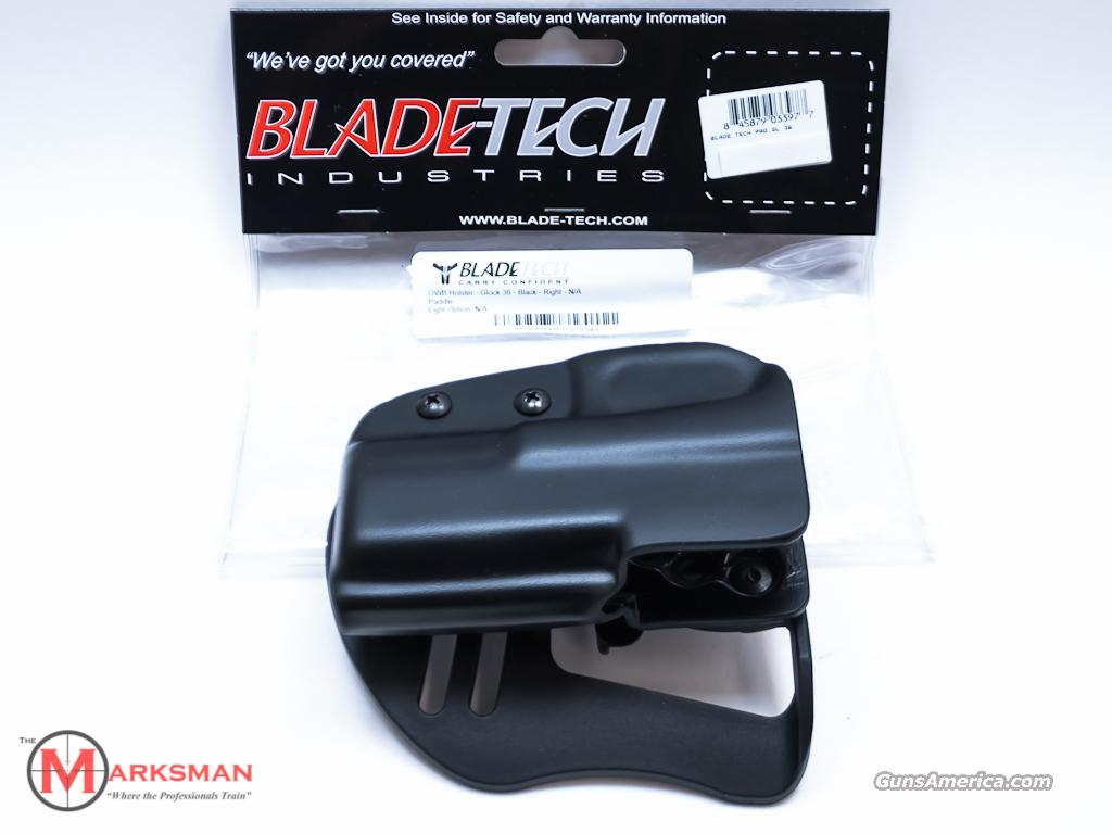 Blade-Tech OTW Paddle Holster Glock 36 NEW  Non-Guns > Holsters and Gunleather > Concealed Carry