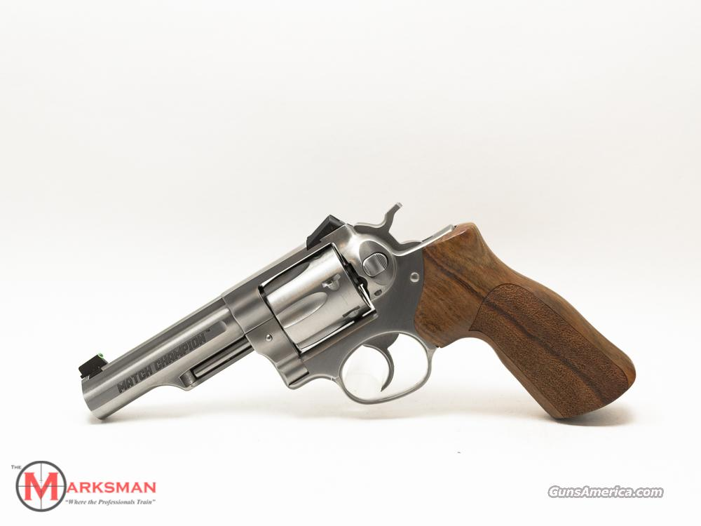 Ruger Match Champion GP100, .357 Magnum NEW  Guns > Pistols > Ruger Double Action Revolver > Security Six Type