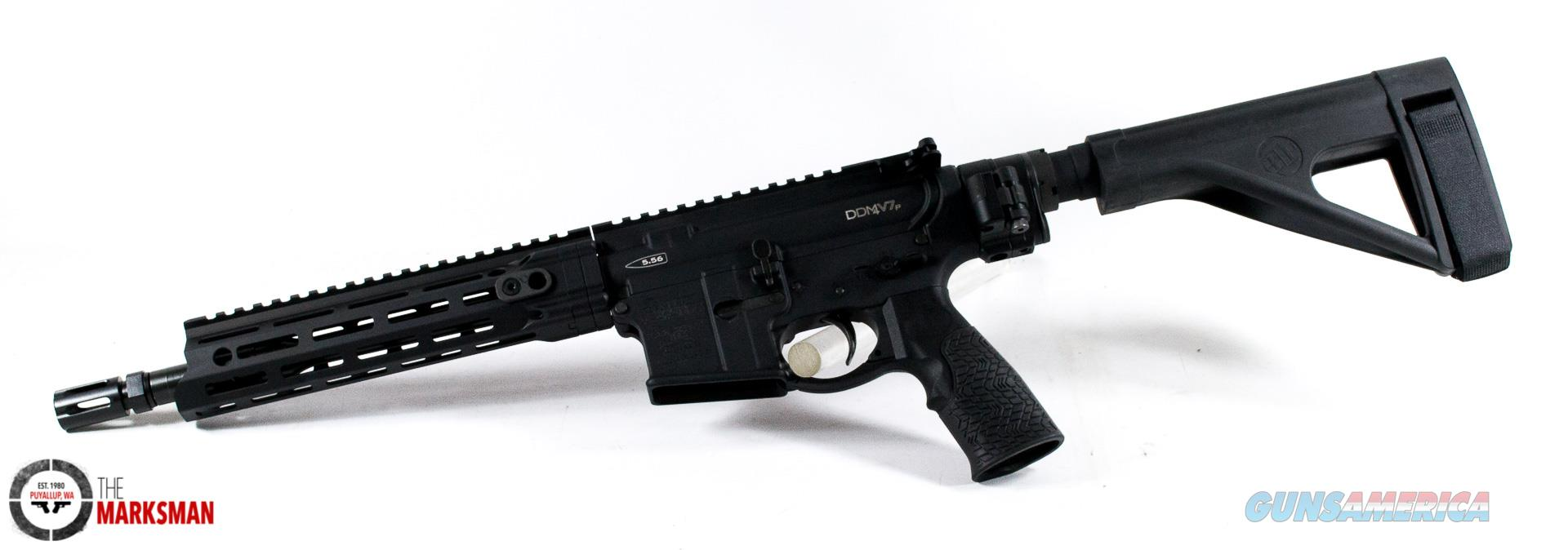 Daniel Defense DDM4 V7 Pistol, 5.56mm NATO NEW Law Tactical Folding Brace, Free Shipping  Guns > Pistols > D Misc Pistols