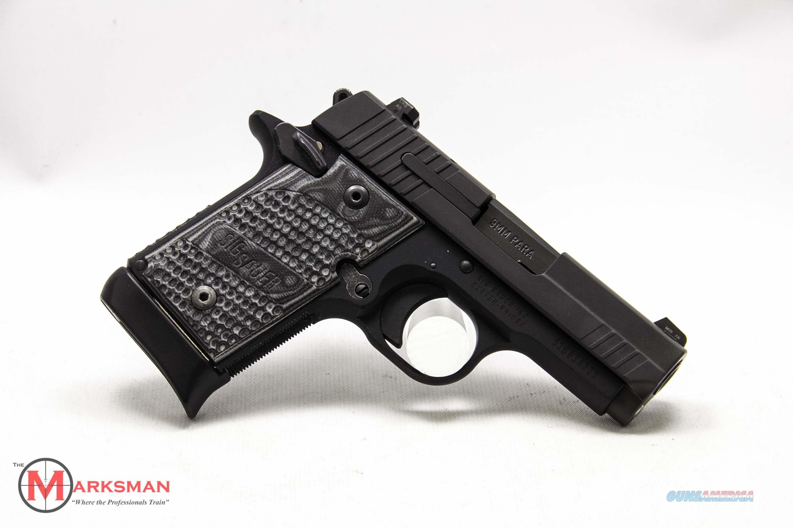 Sig Sauer P938 Extreme 9mm Used   Guns > Pistols > Sig - Sauer/Sigarms Pistols > 1911