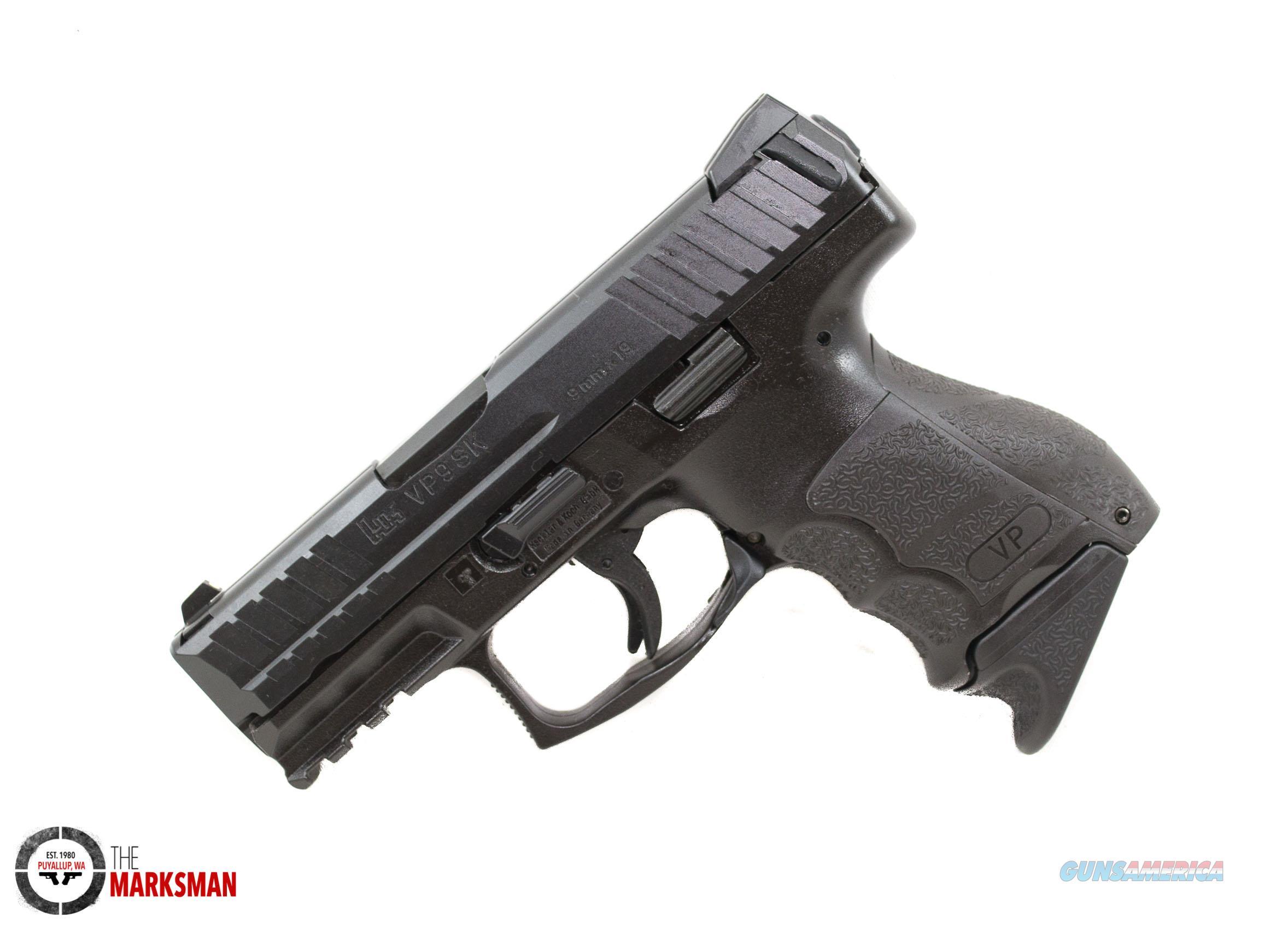 Heckler and Koch VP9SK, 9mm NEW 700009K-A5  Guns > Pistols > Heckler & Koch Pistols > Polymer Frame