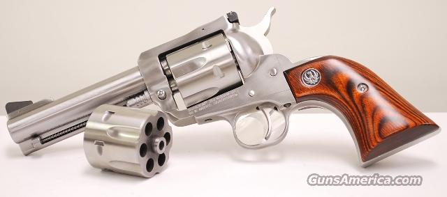 Ruger Stainless Blackhawk Convertible 357 mag 9mm  Guns > Pistols > Ruger Single Action Revolvers > Blackhawk Type