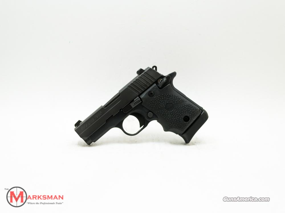 Sig Sauer P938 Black Rubber Grip, 9mm NEW 9 938  Guns > Pistols > Sig - Sauer/Sigarms Pistols > Other