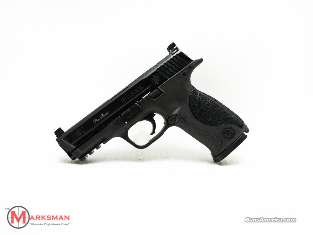 Smith & Wesson M&P9 Pro Series CORE 9mm  Guns > Pistols > Smith & Wesson Pistols - Autos > Polymer Frame