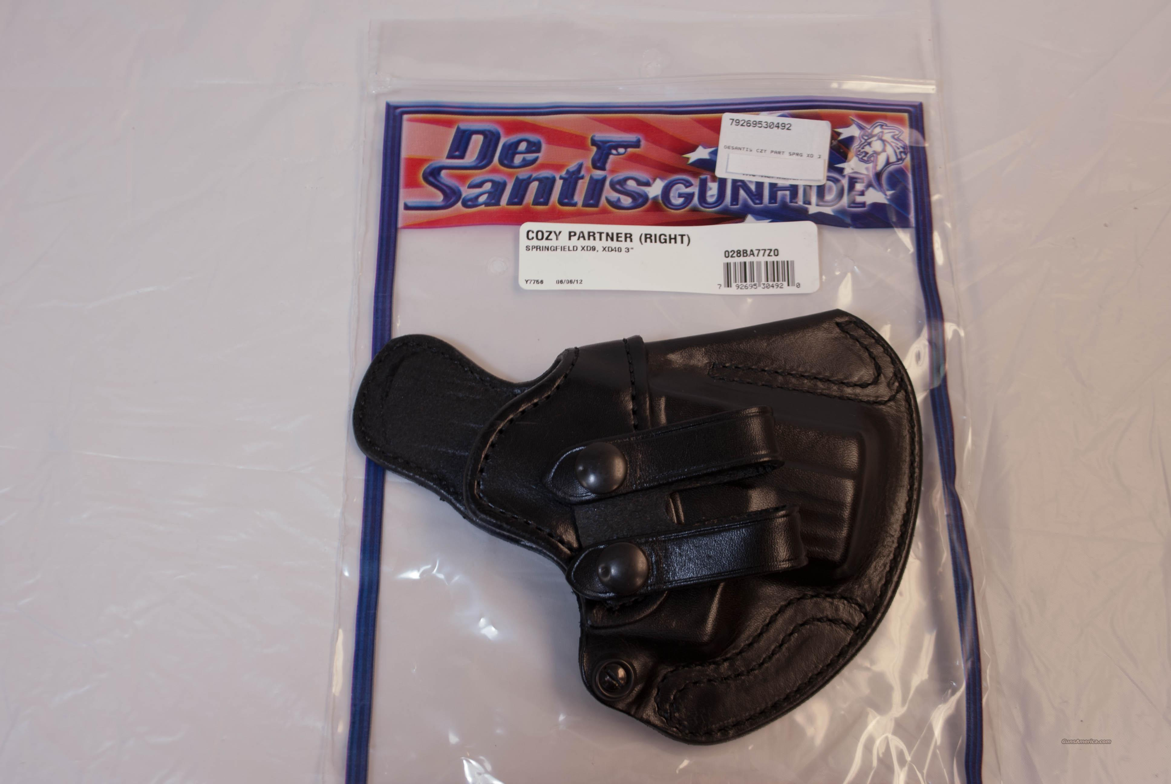 DeSantis Cozy Partner Springfield NEW  Non-Guns > Holsters and Gunleather > Concealed Carry
