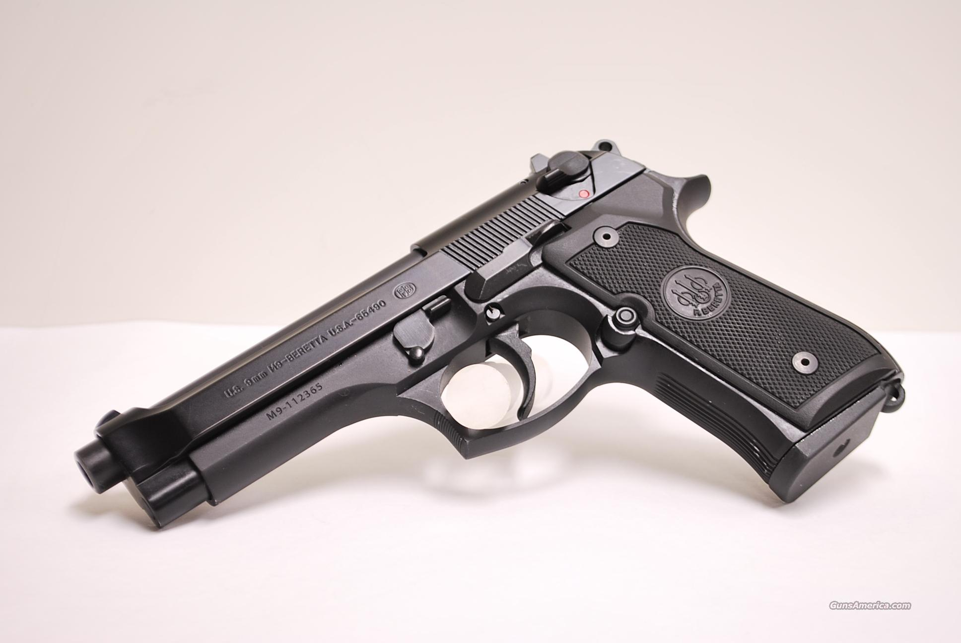 Beretta M9, 9mm Used  Guns > Pistols > Beretta Pistols > Model 92 Series
