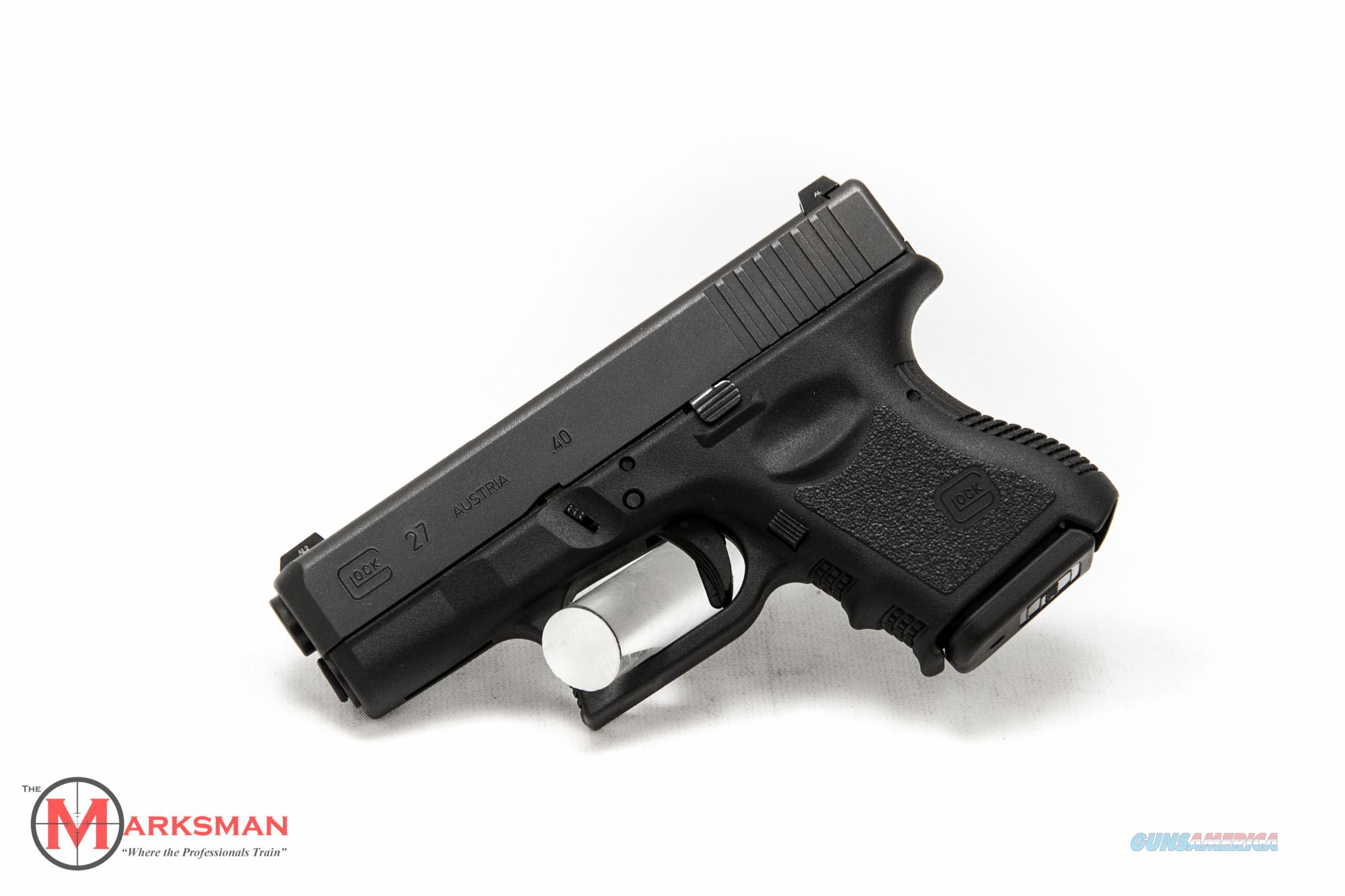 Glock 27 Generation 3 .40 S&W NEW Night Sights  Guns > Pistols > Glock Pistols > 26/27