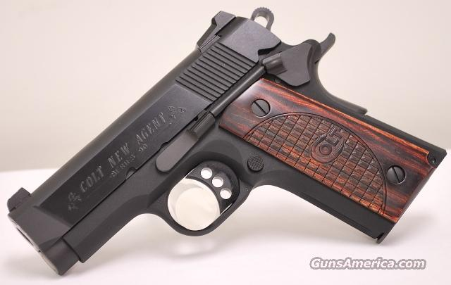 Colt New Agent 45 ACP With XS Big Dot Sights  Guns > Pistols > Colt Automatic Pistols (1911 & Var)