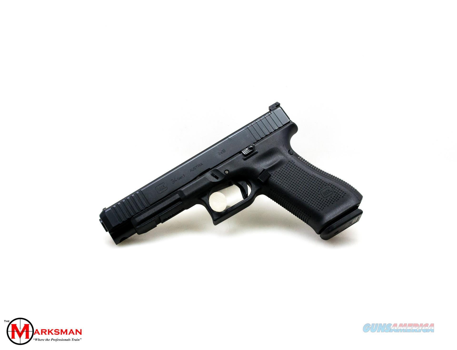 Glock 34 Generation 5 MOS, 9mm, Front Serrations NEW  Guns > Pistols > Glock Pistols > 34