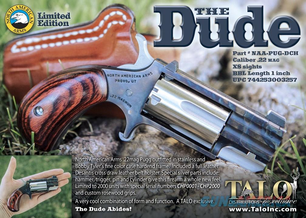 """North American Arms Pug """"The Dude"""", .22 Magnum, Case Color Hardened NEW  Guns > Pistols > North American Arms Pistols"""