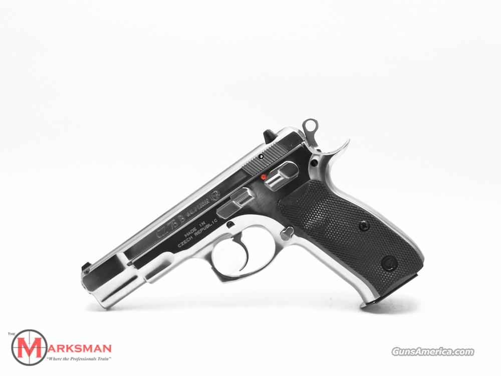 CZ High Polish Stainless CZ 75 B 9mm NEW  Guns > Pistols > CZ Pistols