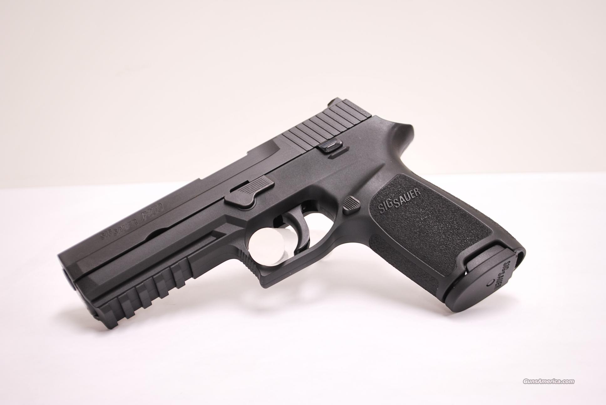 Sig Sauer P250 Full Size, 9mm, Night Sights  Guns > Pistols > Sig - Sauer/Sigarms Pistols > P250