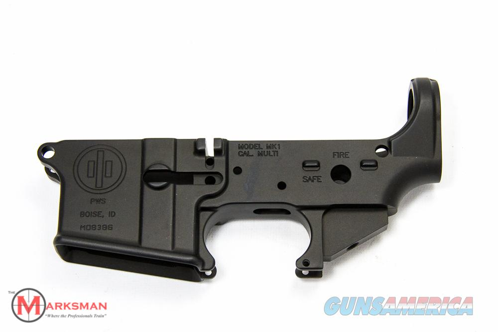 PWS MK1 AR-15 Stripped Lower Receiver  Guns > Rifles > PQ Misc Rifles