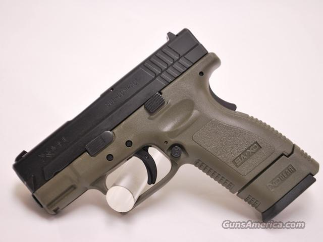 Springfield XD 9, 9mm subcompact od green  Guns > Pistols > Springfield Armory Pistols > XD (eXtreme Duty)