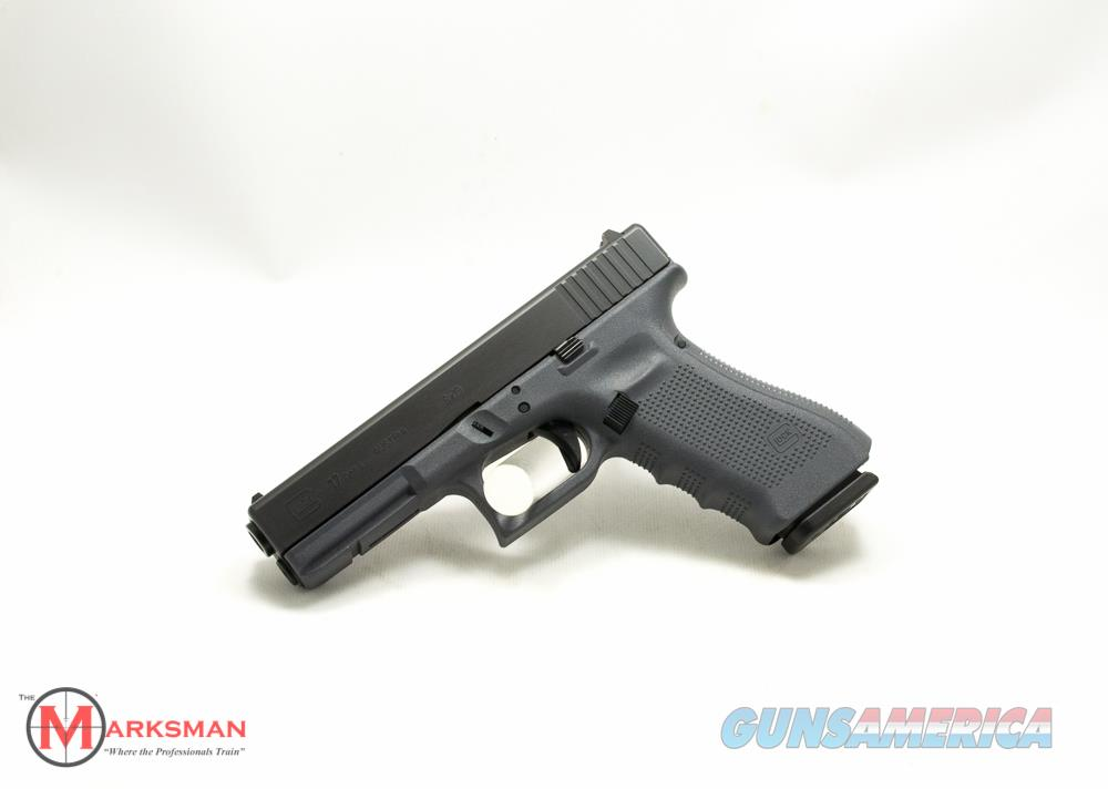 Glock 17 Generation 4 9mm Grey NEW Lipsey's  Guns > Pistols > Glock Pistols > 17