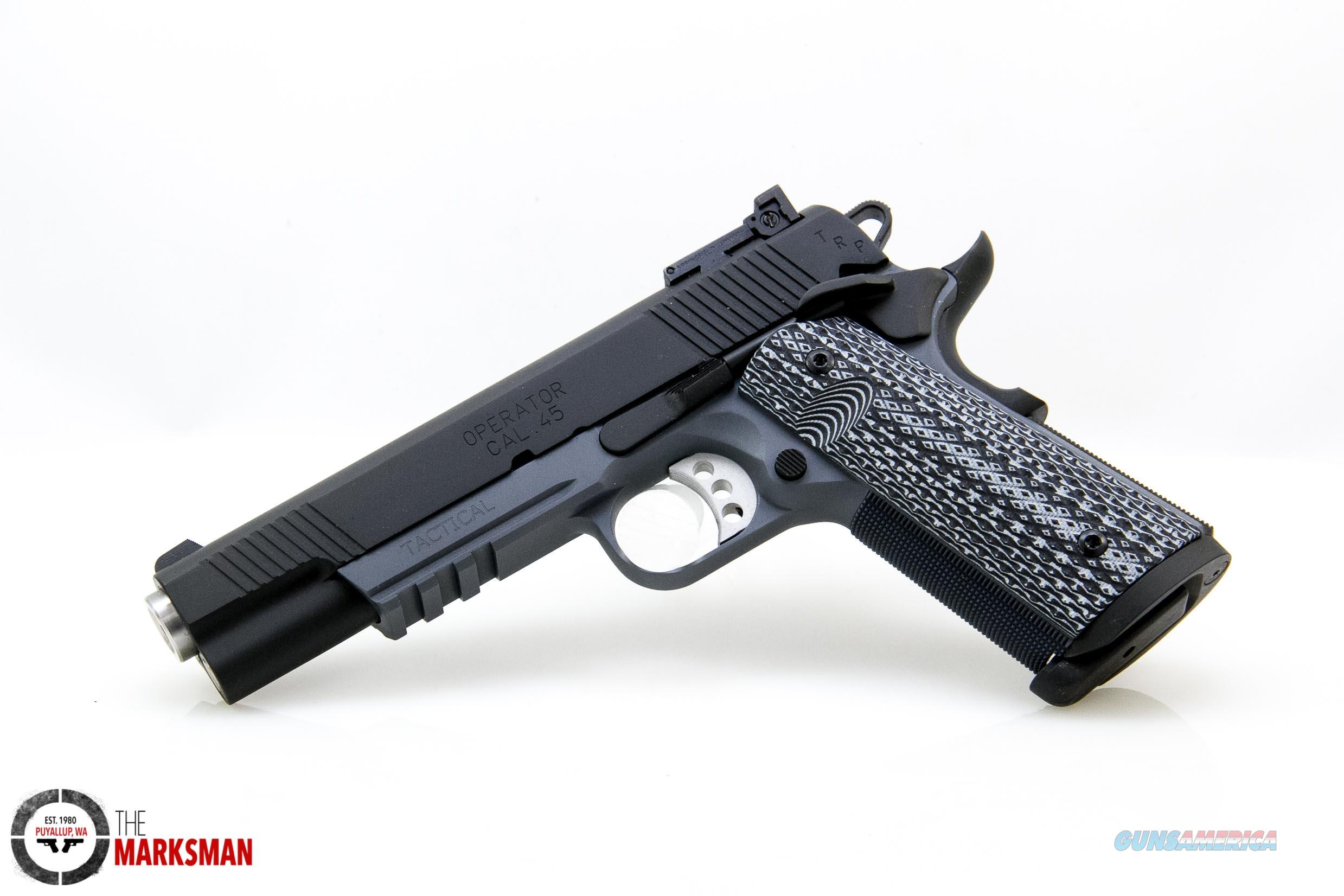 Springfield Armory TRP 1911 .45 ACP NEW Tactical Grey, Adjustable Night Sights  Guns > Pistols > Springfield Armory Pistols > 1911 Type