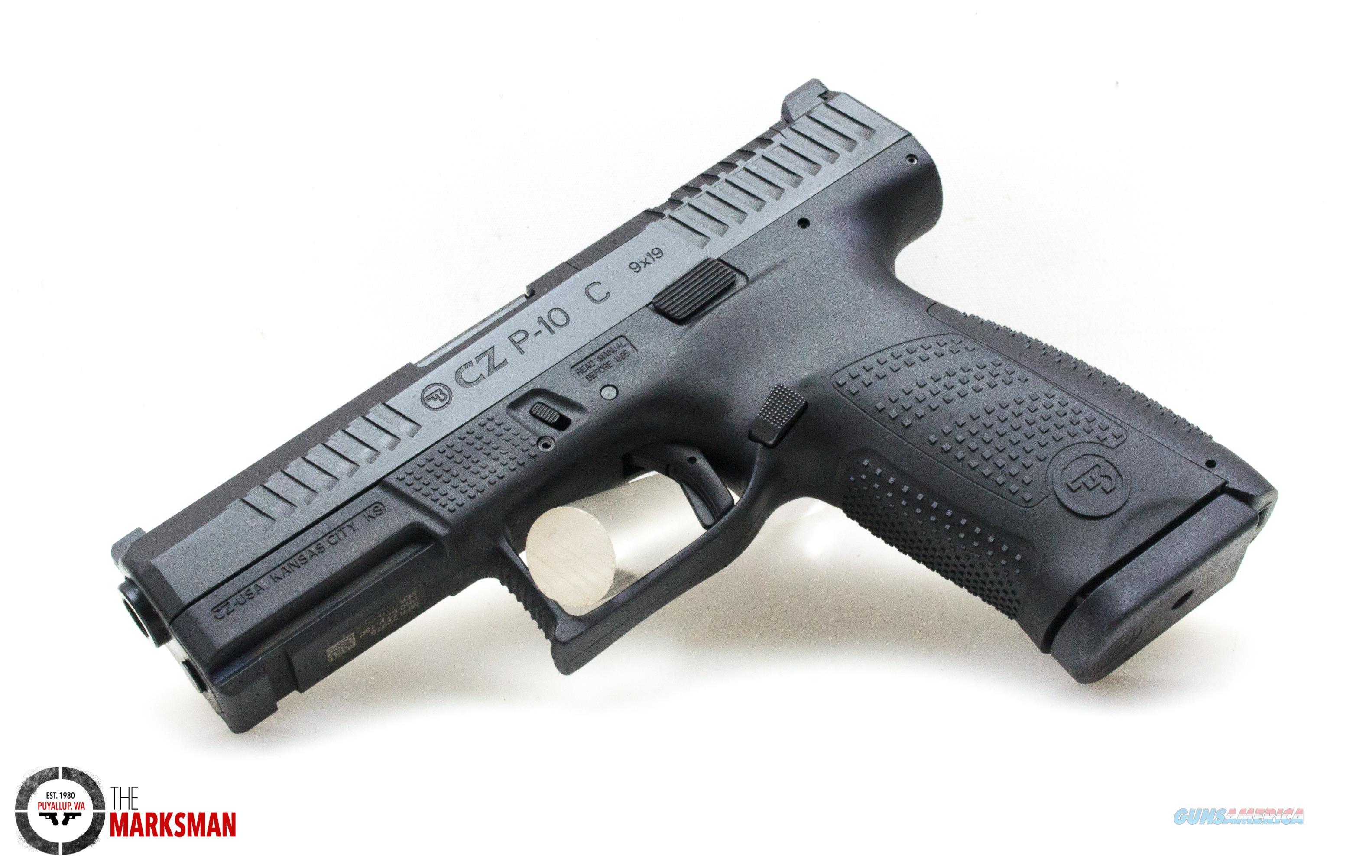 CZ P-10 C Optics Ready, 9mm NEW 95130  Guns > Pistols > CZ Pistols
