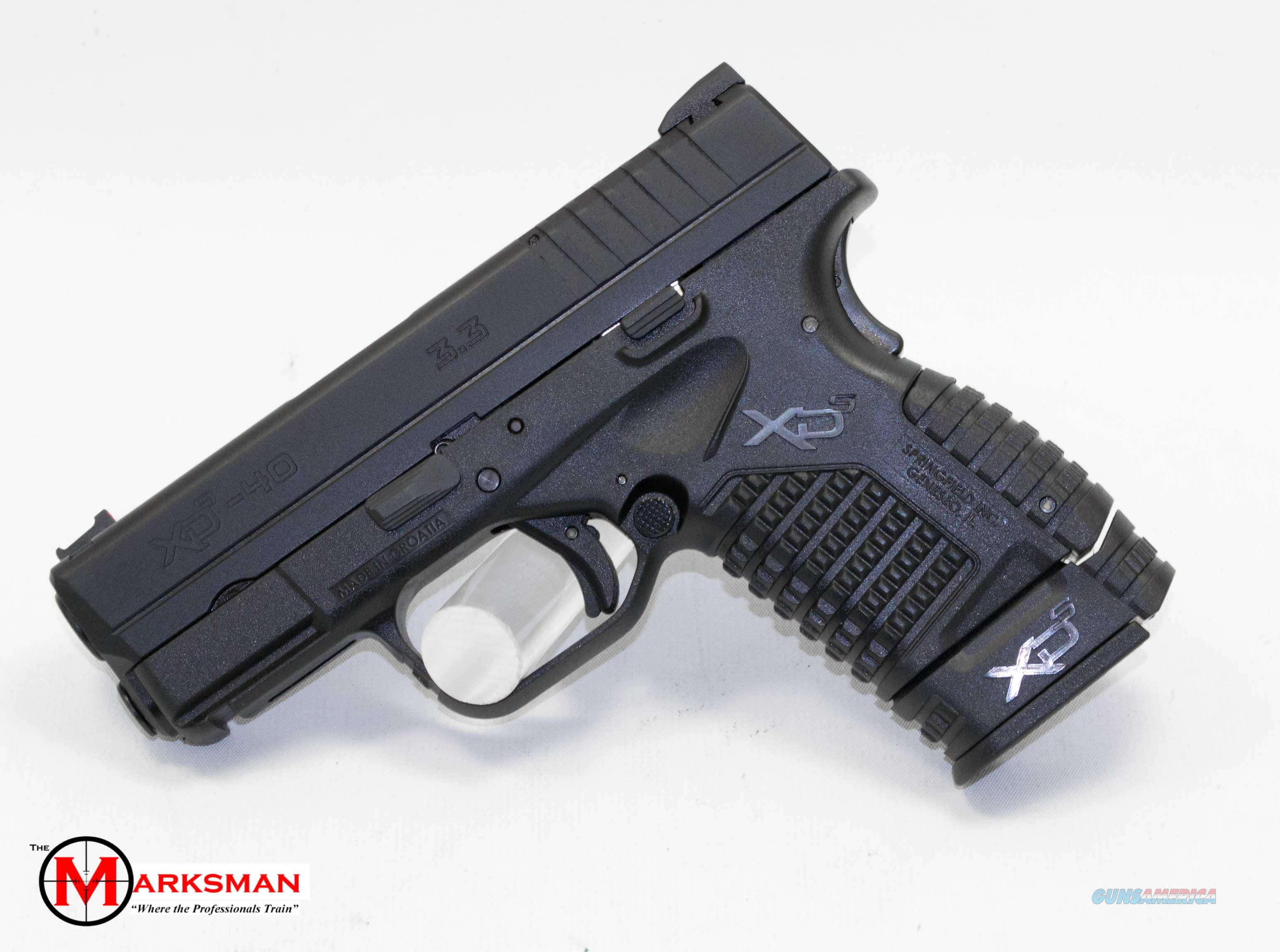 Springfield XDS, .40 S&W NEW XDS93340BE  Guns > Pistols > Springfield Armory Pistols > XD-S