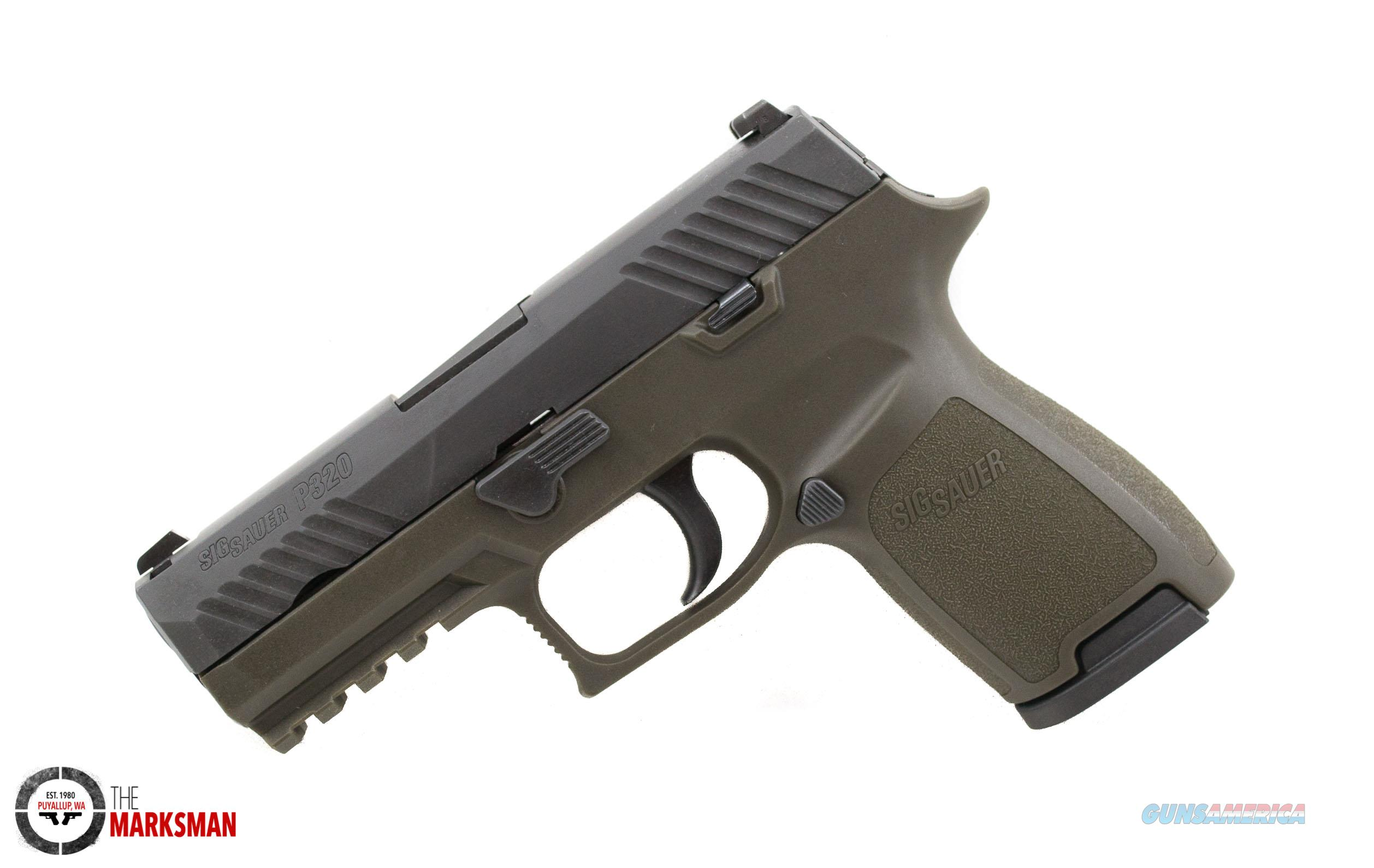 Sig Sauer P320 Compact, 9mm NEW O.D. Green  Guns > Pistols > Sig - Sauer/Sigarms Pistols > P320