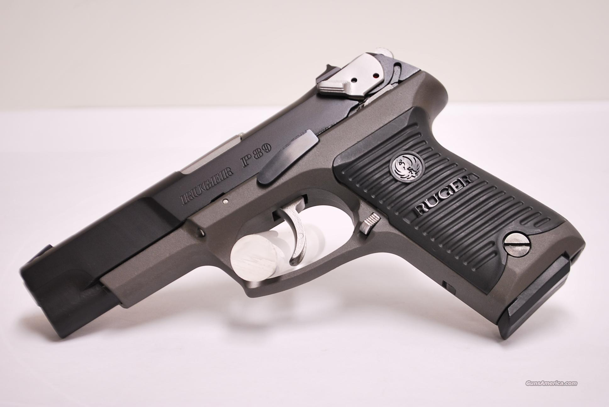 Ruger P89T, 9mm, P89  Guns > Pistols > Ruger Semi-Auto Pistols > P-Series