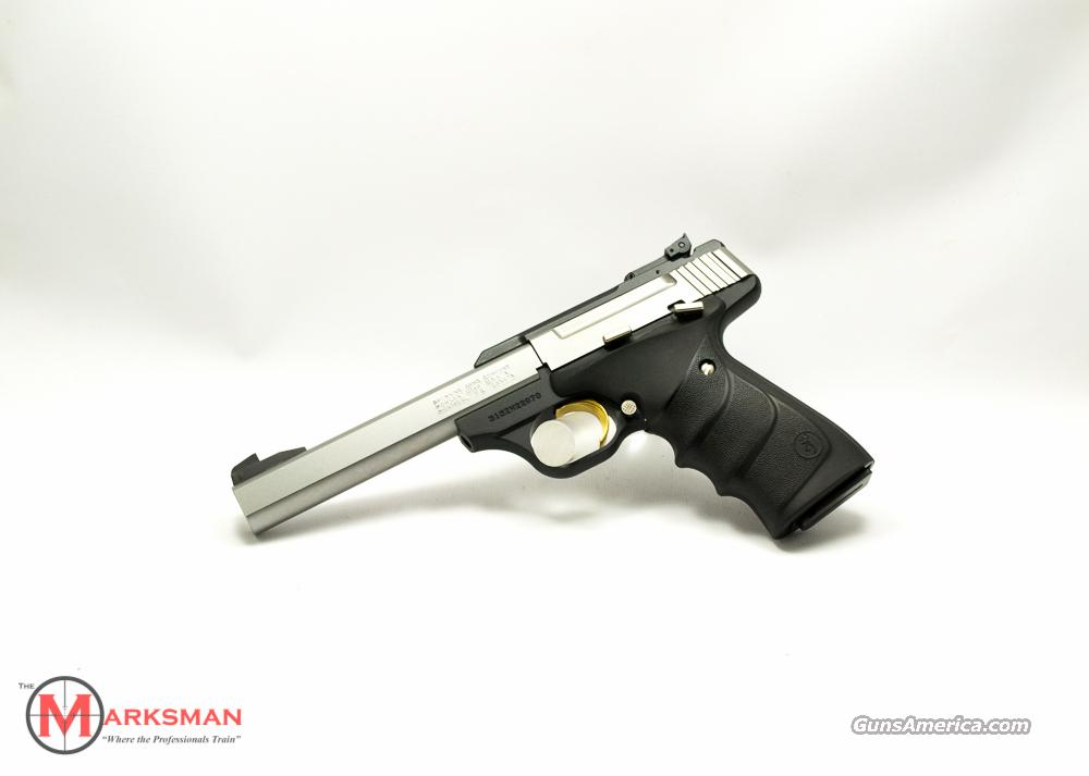 Browning Buck Mark Standard Stainless URX .22 lr NEW  Guns > Pistols > Browning Pistols > Buckmark