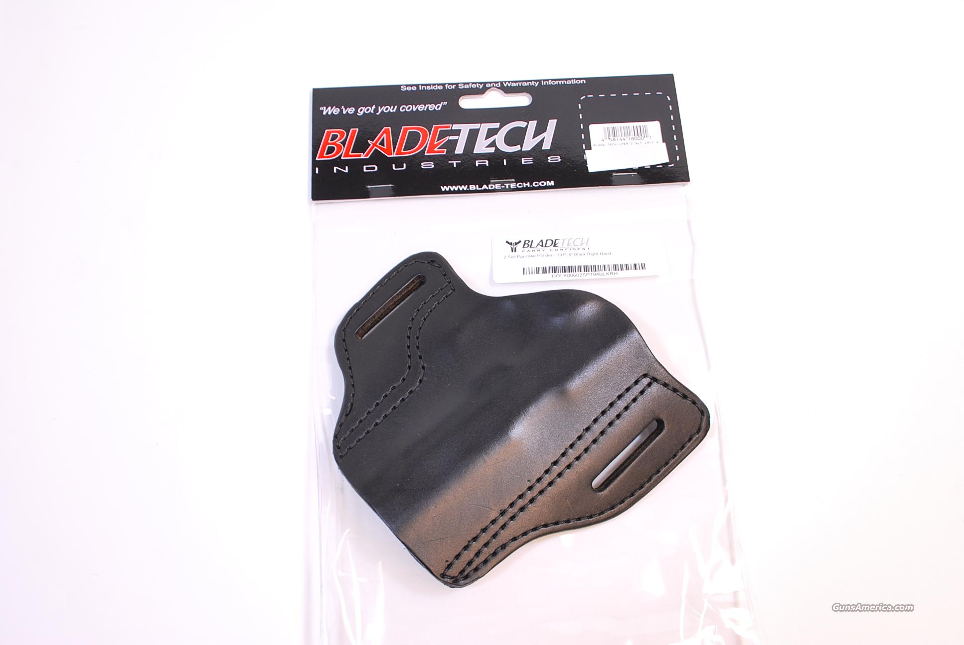 Blade Tech Leather Pancake Holster 1911 4 inch  NEW  Non-Guns > Holsters and Gunleather > Concealed Carry