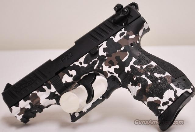 Walther Urban Camo P22, .22 lr  Guns > Pistols > Walther Pistols > Post WWII > P22